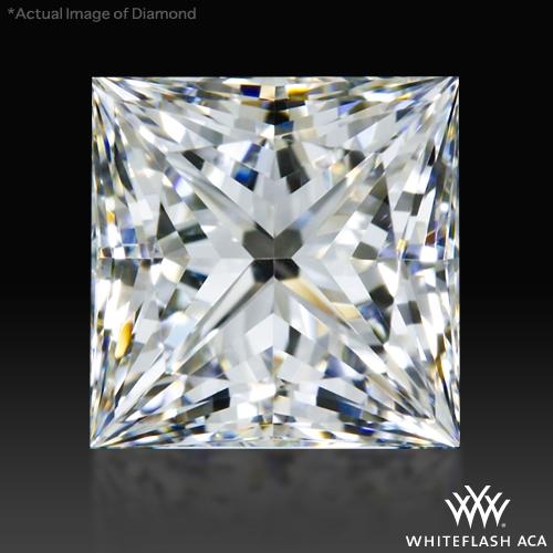 0.756 ct G VS1 A CUT ABOVE® Princess Super Ideal Cut Diamond