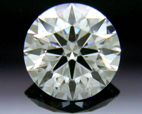 0.577 ct G VS2 A CUT ABOVE® Hearts and Arrows Super Ideal Round Cut Loose Diamond