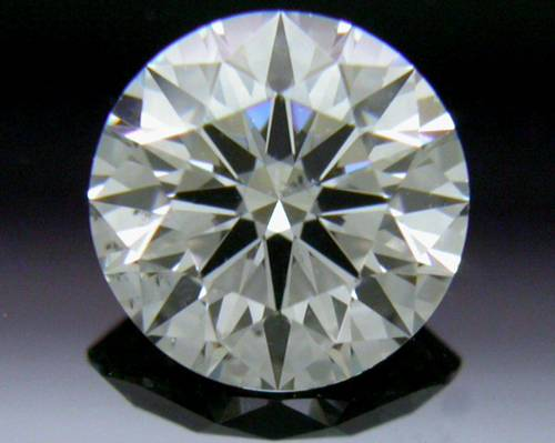 0.542 ct G SI2 A CUT ABOVE® Hearts and Arrows Super Ideal Round Cut Loose Diamond