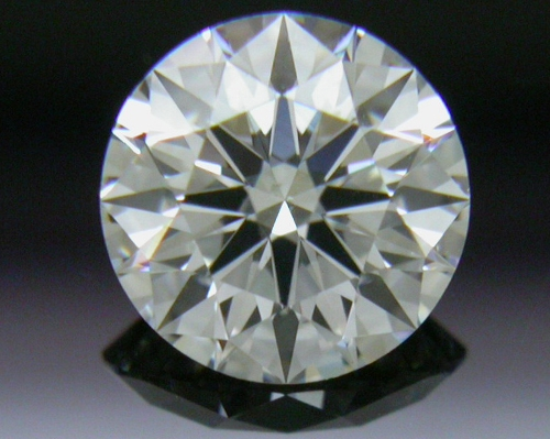 0.512 ct F SI1 A CUT ABOVE® Hearts and Arrows Super Ideal Round Cut Loose Diamond