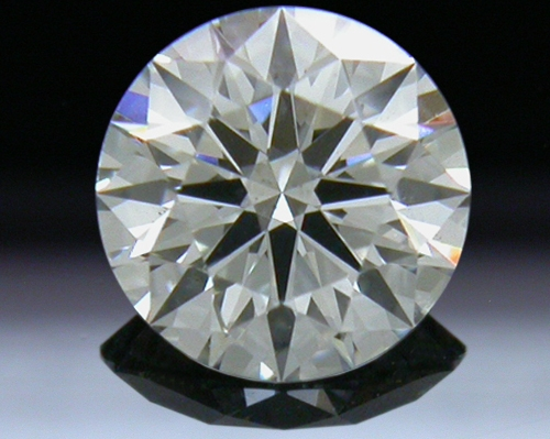 0.512 ct G SI1 A CUT ABOVE® Hearts and Arrows Super Ideal Round Cut Loose Diamond