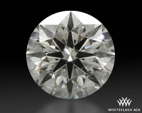 0.537 ct I SI1 A CUT ABOVE® Hearts and Arrows Super Ideal Round Cut Loose Diamond