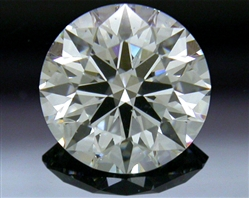 0.903 ct H SI1 A CUT ABOVE® Hearts and Arrows Super Ideal Round Cut Loose Diamond
