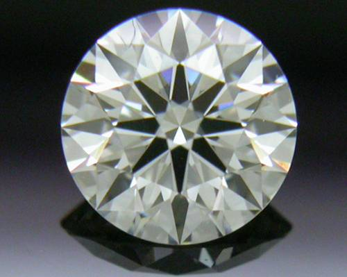 0.422 ct J VS1 A CUT ABOVE® Hearts and Arrows Super Ideal Round Cut Loose Diamond