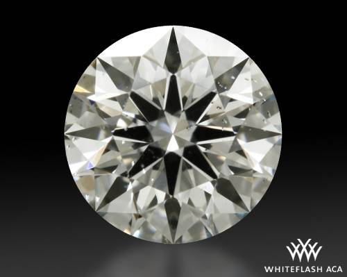 0.533 ct I SI1 A CUT ABOVE® Hearts and Arrows Super Ideal Round Cut Loose Diamond