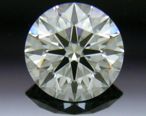 0.527 ct J VS1 A CUT ABOVE® Hearts and Arrows Super Ideal Round Cut Loose Diamond