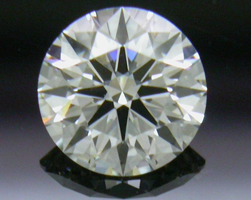 0.401 ct J VS1 A CUT ABOVE® Hearts and Arrows Super Ideal Round Cut Loose Diamond