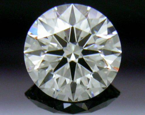 0.408 ct J VS1 A CUT ABOVE® Hearts and Arrows Super Ideal Round Cut Loose Diamond