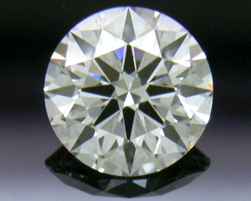 0.404 ct J VS1 A CUT ABOVE® Hearts and Arrows Super Ideal Round Cut Loose Diamond