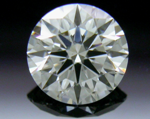 0.405 ct F VS2 A CUT ABOVE® Hearts and Arrows Super Ideal Round Cut Loose Diamond