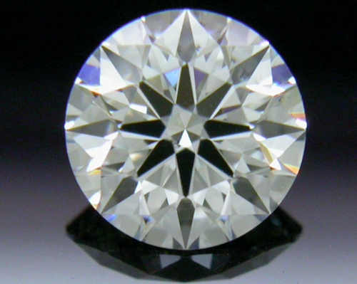 0.401 ct F SI1 A CUT ABOVE® Hearts and Arrows Super Ideal Round Cut Loose Diamond