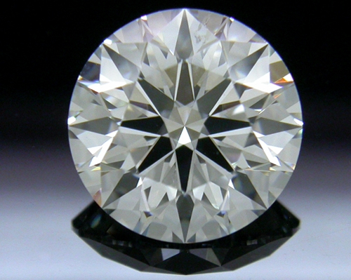 1.801 ct G SI1 A CUT ABOVE® Hearts and Arrows Super Ideal Round Cut Loose Diamond