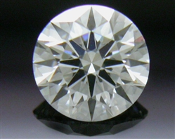 0.367 ct E VS2 A CUT ABOVE® Hearts and Arrows Super Ideal Round Cut Loose Diamond