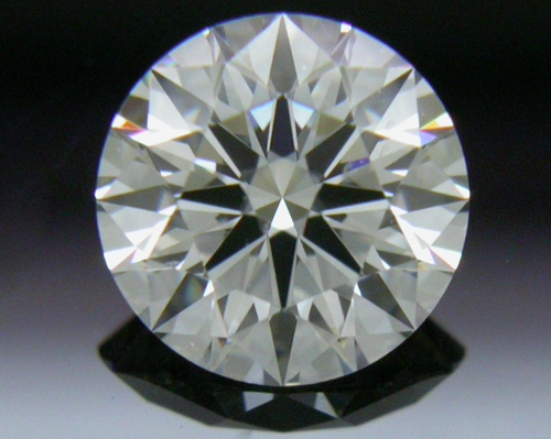 0.557 ct G VS2 A CUT ABOVE® Hearts and Arrows Super Ideal Round Cut Loose Diamond