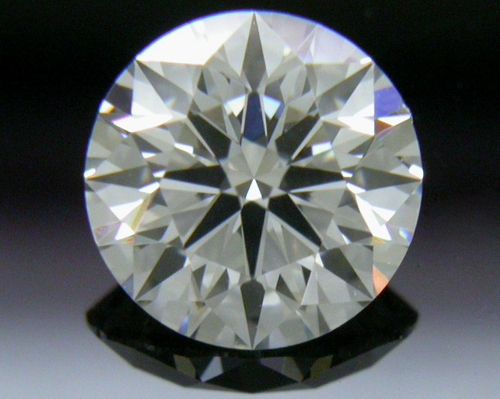 0.578 ct G SI1 A CUT ABOVE® Hearts and Arrows Super Ideal Round Cut Loose Diamond