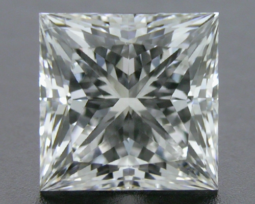 1.02 ct F SI1 A CUT ABOVE® Princess Super Ideal Cut Diamond