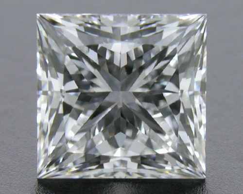0.717 ct E VS2 A CUT ABOVE® Princess Super Ideal Cut Diamond