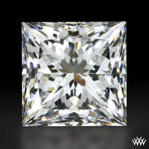 0.708 ct E SI1 A CUT ABOVE® Princess Super Ideal Cut Diamond