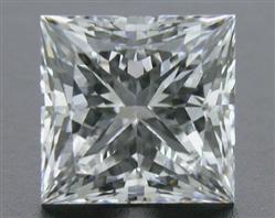 0.745 ct E VS2 A CUT ABOVE® Princess Super Ideal Cut Diamond