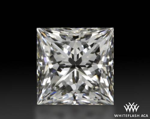 0.703 ct F VS1 A CUT ABOVE® Princess Super Ideal Cut Diamond
