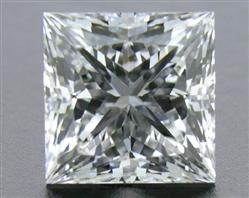 0.73 ct F SI1 A CUT ABOVE® Princess Super Ideal Cut Diamond