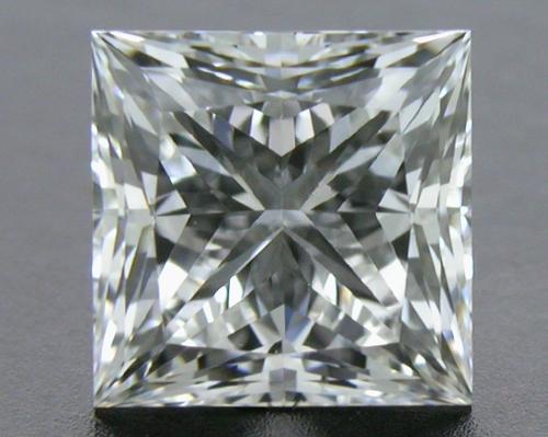 0.728 ct F SI1 A CUT ABOVE® Princess Super Ideal Cut Diamond