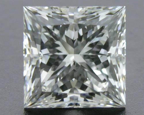 0.716 ct G SI1 A CUT ABOVE® Princess Super Ideal Cut Diamond