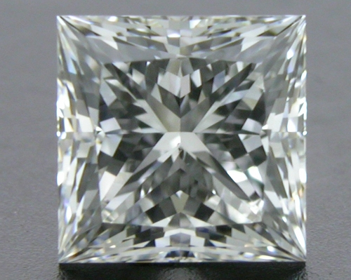 0.716 ct G SI1 A CUT ABOVE® Princess Super Ideal Cut Diamond