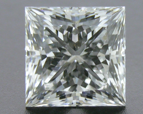 0.707 ct F SI1 A CUT ABOVE® Princess Super Ideal Cut Diamond