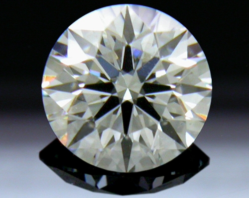 0.277 ct J VS2 A CUT ABOVE® Hearts and Arrows Super Ideal Round Cut Loose Diamond