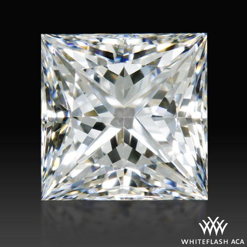 0.46 ct F VS1 A CUT ABOVE® Princess Super Ideal Cut Diamond