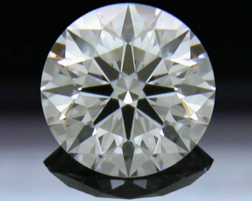 0.51 ct F VS1 A CUT ABOVE® Hearts and Arrows Super Ideal Round Cut Loose Diamond