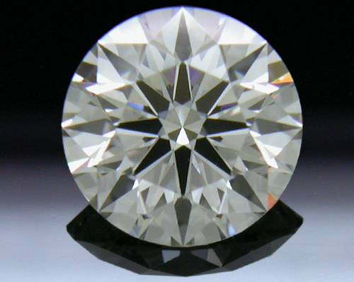 0.59 ct J VS2 A CUT ABOVE® Hearts and Arrows Super Ideal Round Cut Loose Diamond