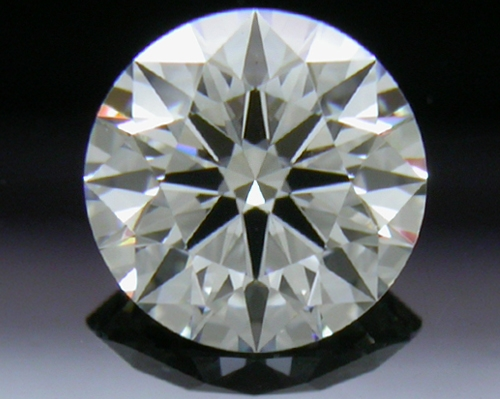 0.524 ct F VS2 A CUT ABOVE® Hearts and Arrows Super Ideal Round Cut Loose Diamond