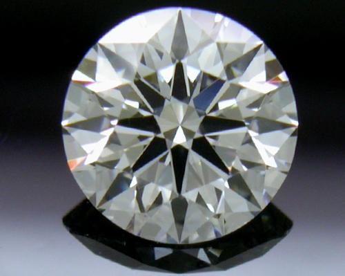 0.531 ct E VS1 A CUT ABOVE® Hearts and Arrows Super Ideal Round Cut Loose Diamond