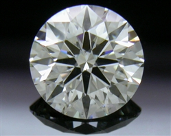 0.737 ct I SI1 A CUT ABOVE® Hearts and Arrows Super Ideal Round Cut Loose Diamond
