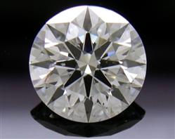 0.577 ct E SI2 A CUT ABOVE® Hearts and Arrows Super Ideal Round Cut Loose Diamond