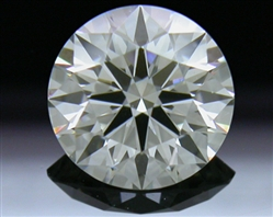 0.708 ct G VS1 A CUT ABOVE® Hearts and Arrows Super Ideal Round Cut Loose Diamond