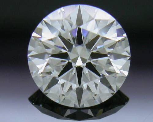 0.771 ct H SI1 A CUT ABOVE® Hearts and Arrows Super Ideal Round Cut Loose Diamond