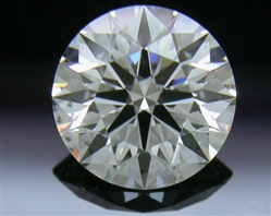 0.787 ct I SI1 A CUT ABOVE® Hearts and Arrows Super Ideal Round Cut Loose Diamond