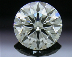 0.83 ct I SI1 A CUT ABOVE® Hearts and Arrows Super Ideal Round Cut Loose Diamond