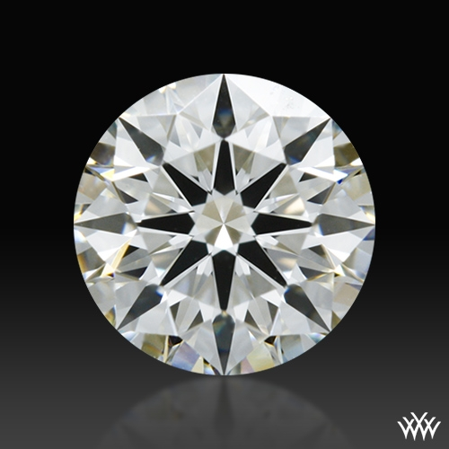 0.542 ct H VS1 A CUT ABOVE® Hearts and Arrows Super Ideal Round Cut Loose Diamond