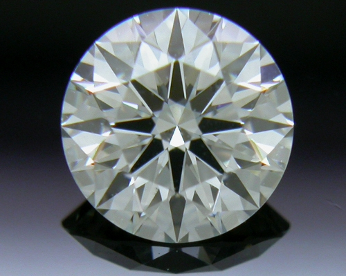 0.554 ct J VS2 A CUT ABOVE® Hearts and Arrows Super Ideal Round Cut Loose Diamond