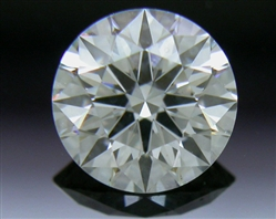 0.518 ct I VS2 A CUT ABOVE® Hearts and Arrows Super Ideal Round Cut Loose Diamond