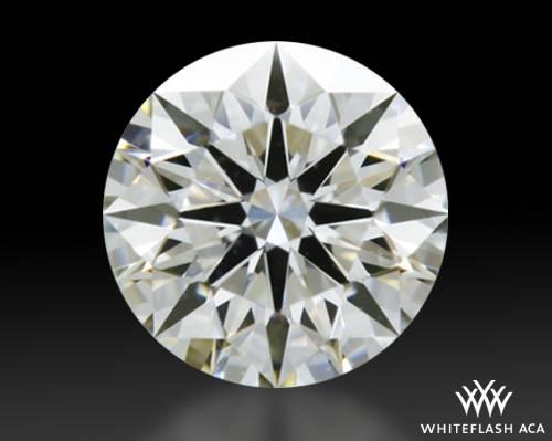 0.41 ct I VVS2 A CUT ABOVE® Hearts and Arrows Super Ideal Round Cut Loose Diamond