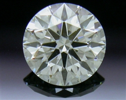 0.408 ct J SI1 A CUT ABOVE® Hearts and Arrows Super Ideal Round Cut Loose Diamond