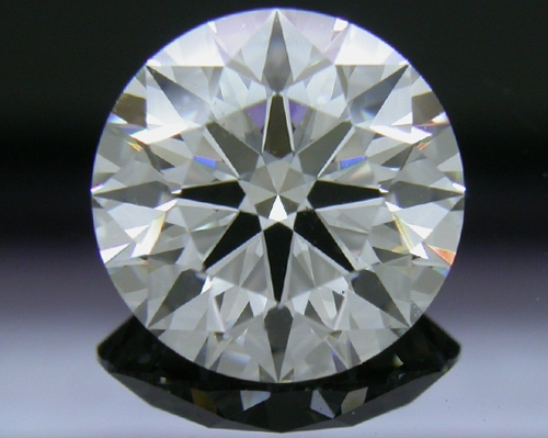 2.114 ct G VS2 A CUT ABOVE® Hearts and Arrows Super Ideal Round Cut Loose Diamond