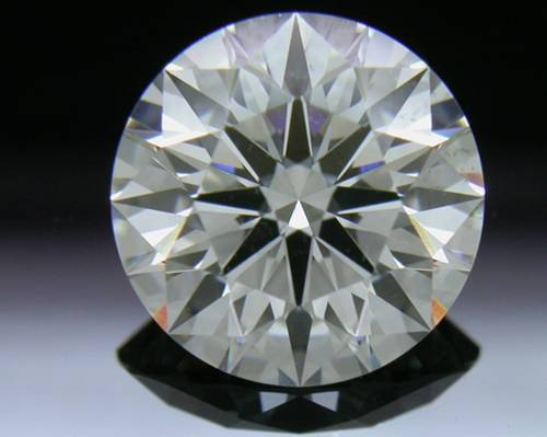 1.61 ct H SI1 A CUT ABOVE® Hearts and Arrows Super Ideal Round Cut Loose Diamond