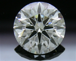 1.216 ct H VS2 A CUT ABOVE® Hearts and Arrows Super Ideal Round Cut Loose Diamond