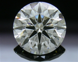 1.215 ct H VS2 A CUT ABOVE® Hearts and Arrows Super Ideal Round Cut Loose Diamond